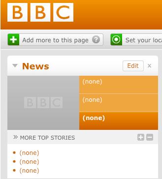 BBC News Slow News Day