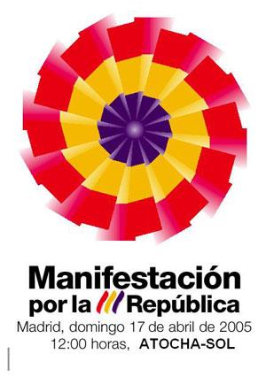Manifestación Unitaria 17 de Abril 2005