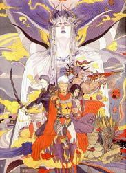 Los héroes, segun Yoshitaka Amano