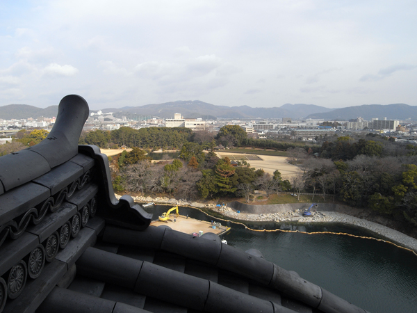 岡山城 8