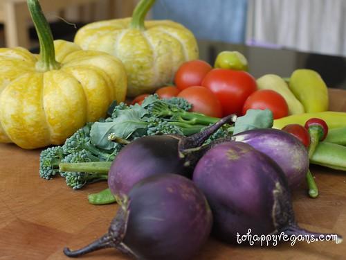 Lovely home grown veg