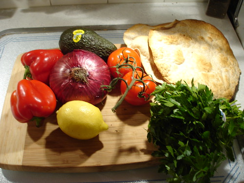 Fattoush Ingredients