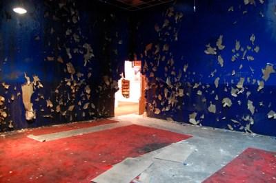 Jonah Freeman and Justin Lowe, Black Acid Co-op [installation view], 2009