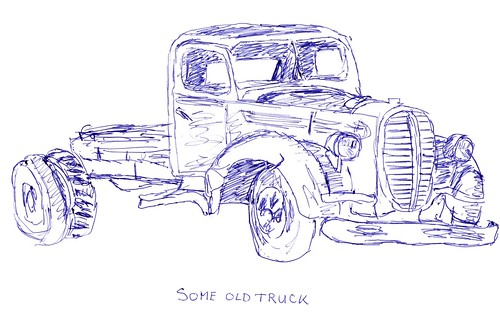 An old truck