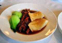 Braised Fish Maw and Goose Web