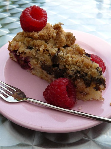 East Coast Coffee Cake - Chocolate Raspberry