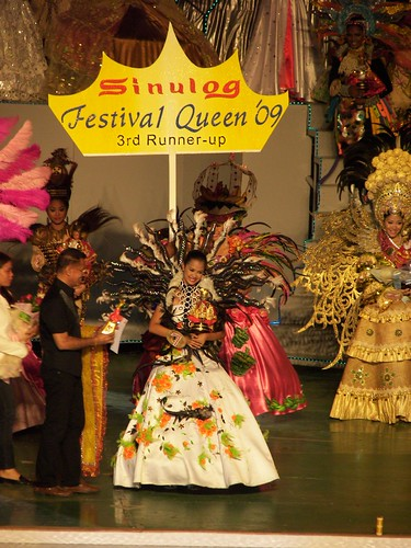 Sinulog Festival Queen 2009 by you.