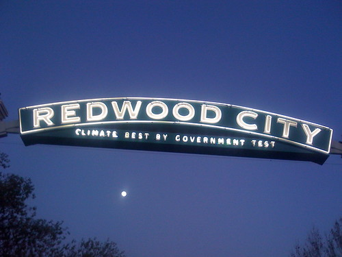 Redwood City sign