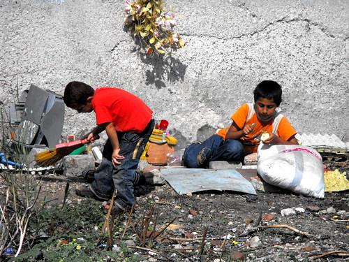 Kinderen in Istanbul