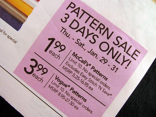 Pattern-Sale