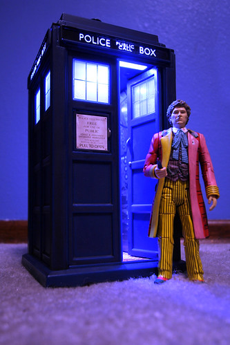 Doctor Who - 6th Doctor Action Figure