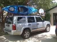 Jeep commander sport roof rack