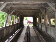 Cedar Point - Antique Cars Covered Bridge