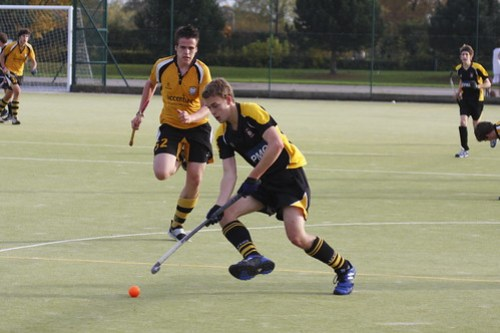 Hockey 2nds, 28.10.09, Photo: George Lowther