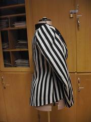 the finished jacket side