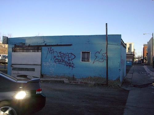 Blue jailhouse.