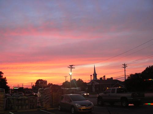 Hunter Street Girl's Night - Sunset at Dairy Queen