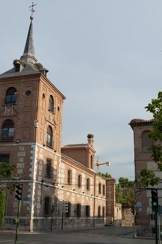 Calle Trinidad desde la Plaza de Cervantes en la actualidad