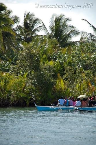 Local river travel, Vinzons, Camarines Norte