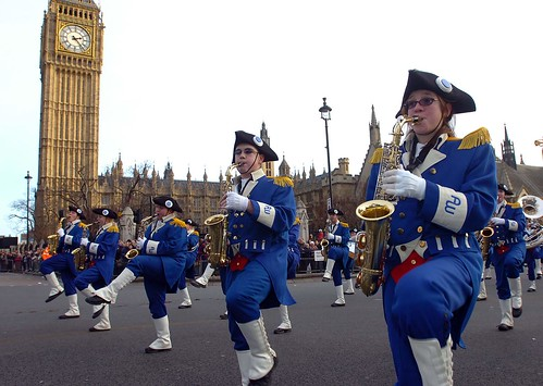 New Years Day Parade, London