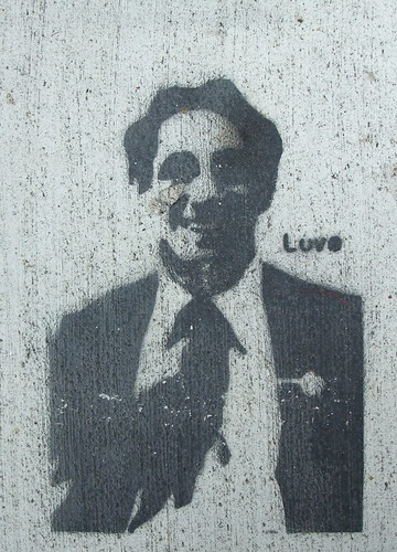 Harvey Milk stencil