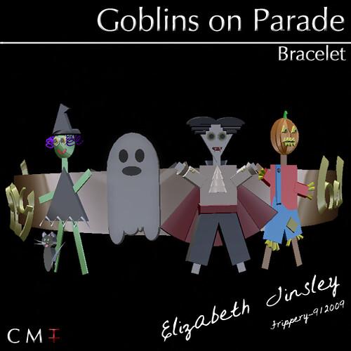 ET~Goblins on Parade Bracelet - Hunt Prize