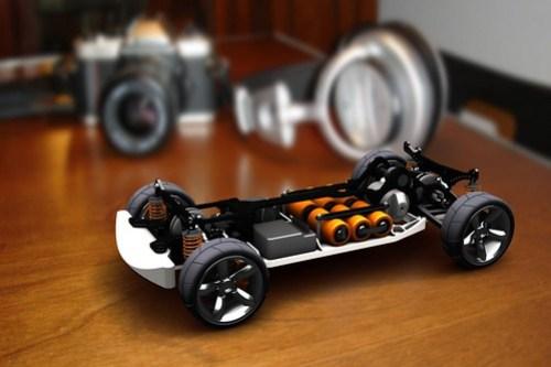 RC Car von Autodesk Manufacturing Gallery.