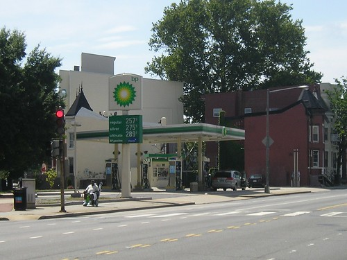 BP at Florida & P St, NE, 2009
