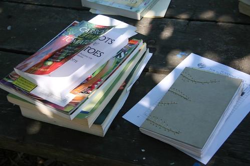 Favorite Books & Garden Journal