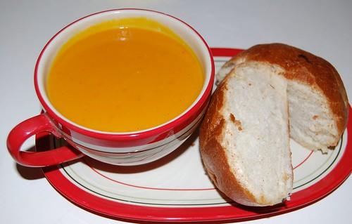 Roasted Sunshine Squash Soup