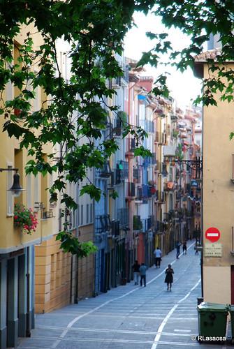 Calle San Agustín, Pamplona