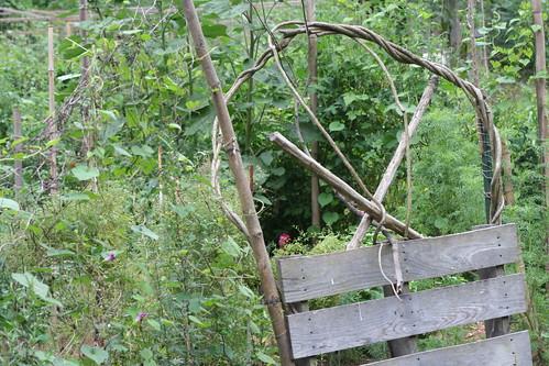 Community Garden Gate