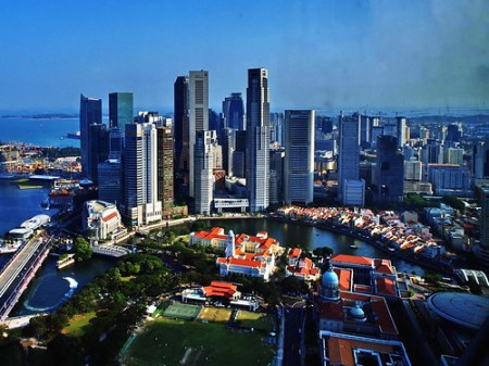 Singapore Cityscape. Credits to Pennypoon, Flickr