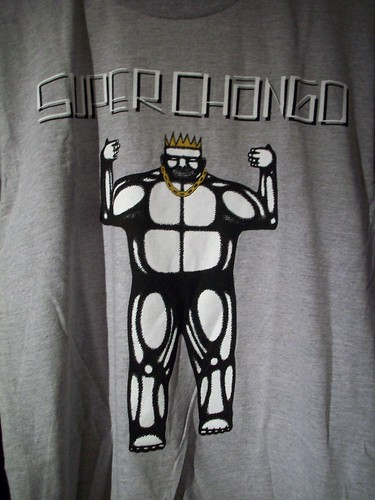 Super Chango t-shirt (m) - Date Farmers