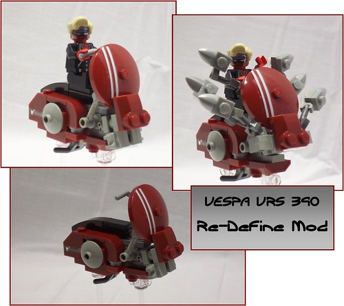 LEGO Vespa speeder bike