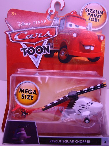 CARS Toons Rescue Chopper