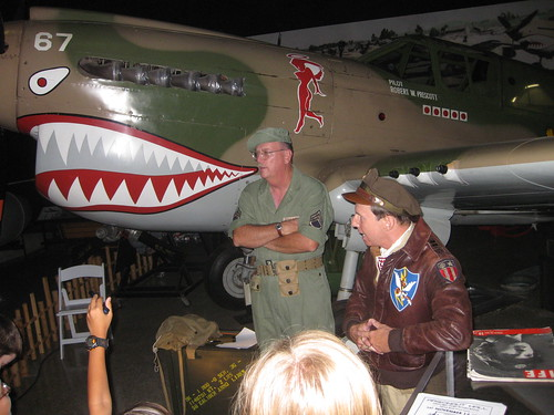 Staff Sergeant with a Big Toothy Mouth