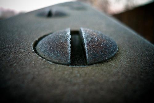 Frosty screw by Håkan Dahlström