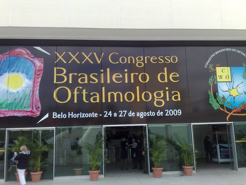 Entrada do XXXV Congresso CBO