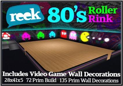 Reek 80s Roller Rink - 1L