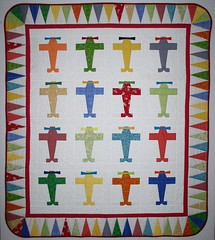 Fly Boy Baby Quilt