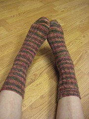 Hollyday Mystery socks