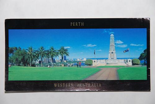 明信片-Perth, Western Australia