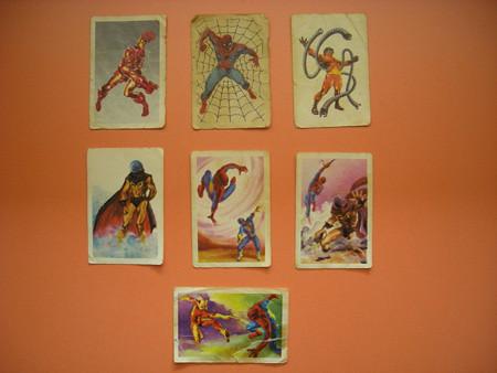 spider-man y los cromos de phoskitos por ti.