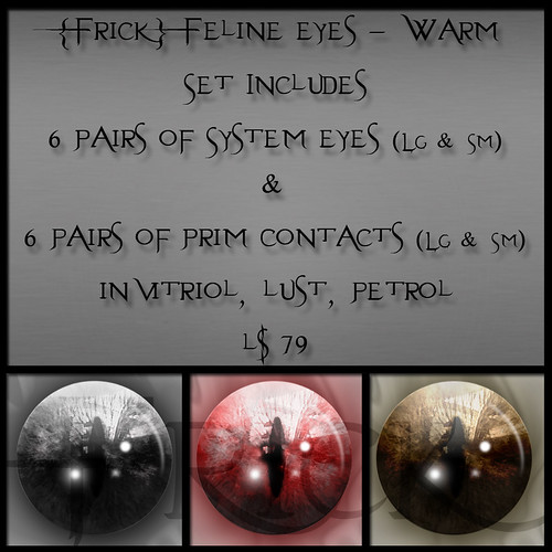 Frick - Feline Eyes - Warm