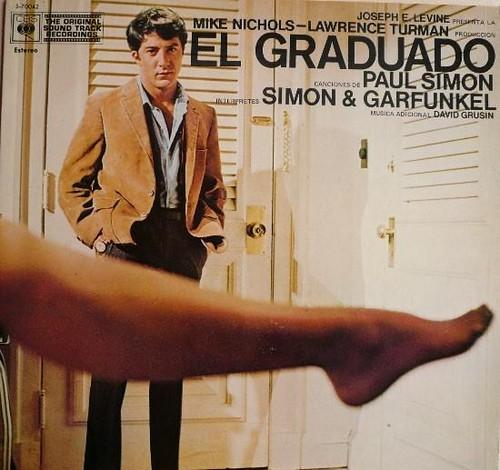 El Graduado - Portada LP por ti.