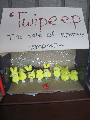 Twi-Peeps A tale of the sparkley Vam-peeps