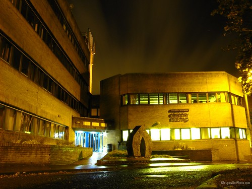 Gregory Building at Night