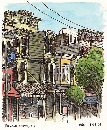fillmore street, SF