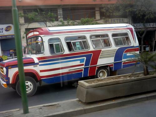 A micro (mini-bus)